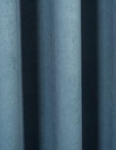 Ύφασμα - Velour Suet μπλε...