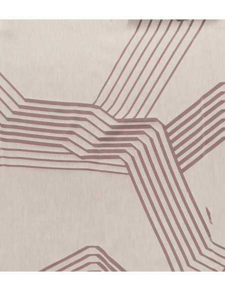 Υφάσματα Κουρτίνες- Ζορζέτα Ντεβορέ ματ με διαφάνειες αριστοκρατική παρουσία.