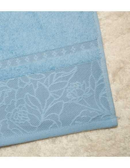 Πετσέτα Μπάνιου Μπλε 70x140 Π117
