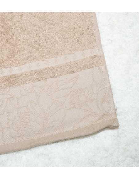 Πετσέτα Μπάνιου Πετσέτα Μπάνιου Kαφέ Ανοιχτό 70x140 Π118