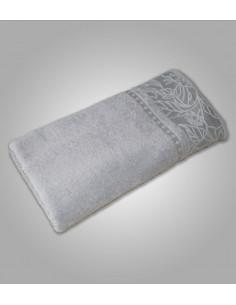 Πετσέτα Μπάνιου Γκρι Ανοιχτό 70x140 Π111